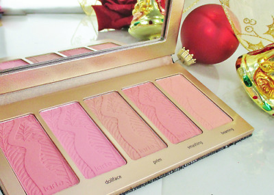 TARTE Blush Palette Amazonian Clay Pinks & Peach BLING IT ON - NEW in Box