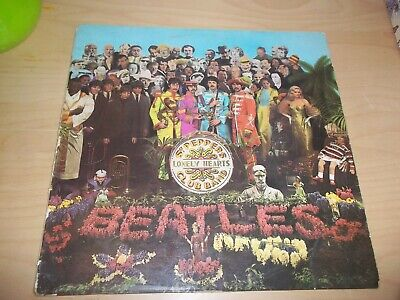 The Beatles – Sgt. Pepper's Lonely Hearts Club Band - 1967, UK, Vinyl, LP