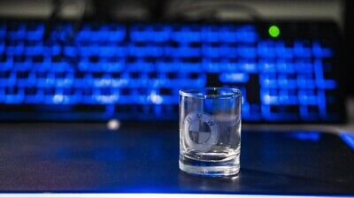 BMW Crystal Glass Vodka Whiskey Shot Cup Drinking