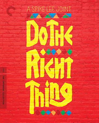 Do The Right Thing The Criterion Collect BLU-RAY NUOVO