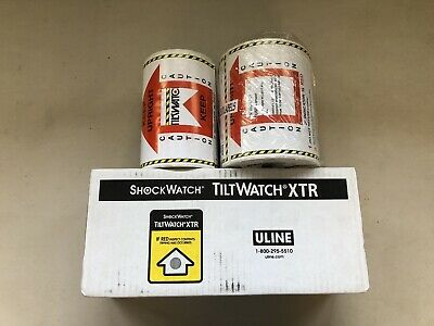 TiltWatch Tipping Monitor Indicator (70pcs)+>200 companion labels