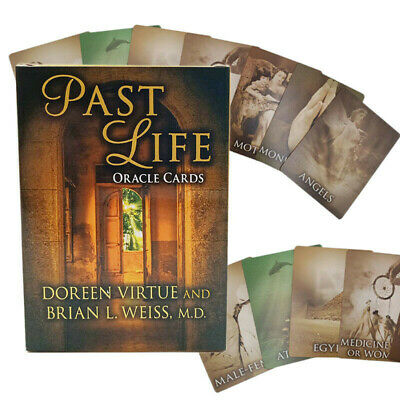 44Pcs Life Purpose Oracle Tarot Cards by Doreen Virtue Full Card Deck Magic Tool
