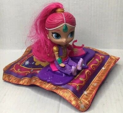 Fisher-Price Nick Jr Shimmer and Shine Magic Flying Carpet 40+ Songs from Show
