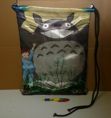My Neighbor Totoro Gym Bag Sack Bag 45x30cm Cosplay New