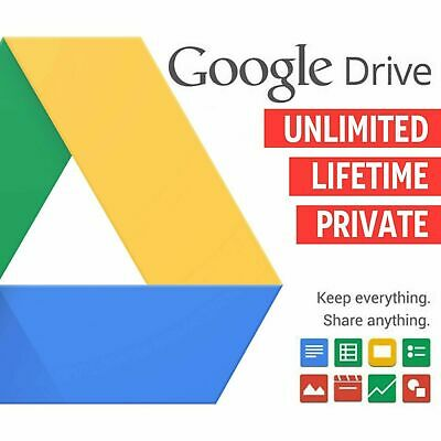 2X UNLIMITED GOOGLE DRIVE ON YOUR ACCOUNT LIFETIME + 🎁 ( 2x DRIVES)