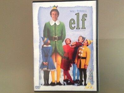 Elf 2 Disc Dvd - Will Ferrell, James Cann - Very Good Condition