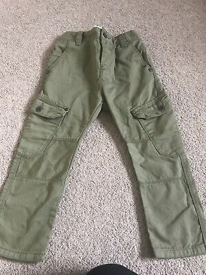 BNWT Next Boys Khaki Green Thin Jeans Size 5 Years RRP £17