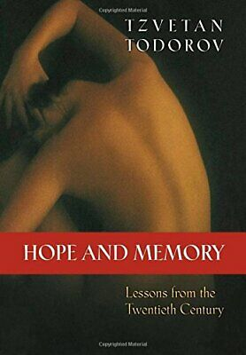 HOPE AND MEMORY: LESSONS FROM TWENTIETH CENTURY By David Bellos - Hardcover Mint