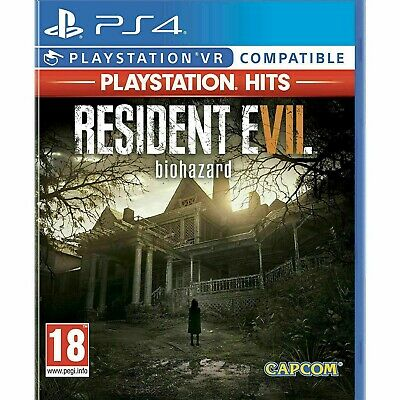 Resident Evil 7 Biohazard (PS4) VR Compatible New and Sealed ( FREE UK P&P)