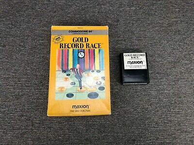 Gold Record Race (Maxion) | Commodore 64 Computer Game Cartridge