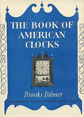 Antique American Clocks - Types Makers Dates (6,000 Clockmakers) / Scarce Book