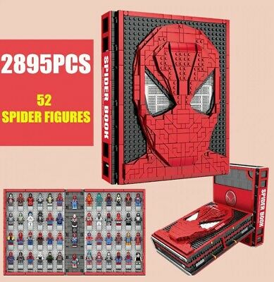 Spider-Man Book with 52 minifigures marvel Avengers Lego Moc Minifigure