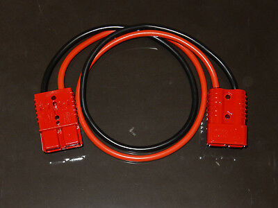 1m x 25mm² 170Amp Jump Start Leads Extension 2 x Red SB175 Anderson Connectors