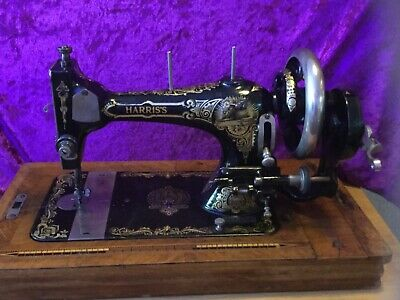Antique German Sewing Machine Harris's Made by Stoewer 1910