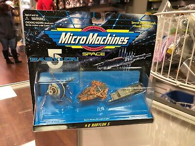 Micro Machines Space Babylon 5 Set #6 Sealed Galoob