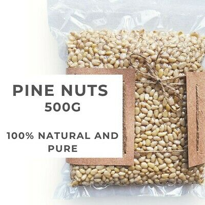 Pine nuts 500g / Wild Grown Siberian Pine Nuts, Raw and Fresh