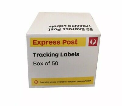 50 Australia Post Tracking Labels Tracker Delivery Express Stickers Cheap Price
