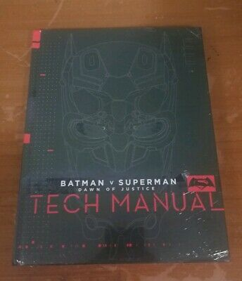 Batman Vs Superman Dawn Of Justice Tech Manual