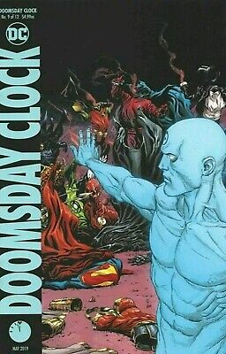 Doomsday  clock #9 variant cover new nm.