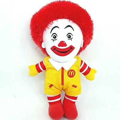 Ronald McDonald plush soft toy doll 2017