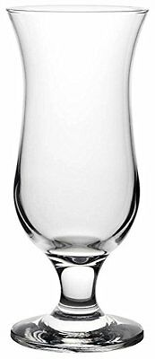 6 Cocktail Glasses 480ml Hurricane Drinking Long Drink Ice
