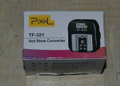 Pixel TF-321 Hot Shoe Converter for Canon.