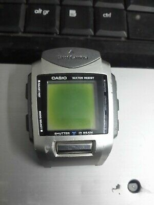 CASIO CAMERA WATCH WQV 1 mod QW 2220 wrist camera digital  bvHsu