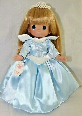 """Blue Mouseketeer 12/"""" Vinyl Doll Disney Parks Precious Moments Signed 5151"""