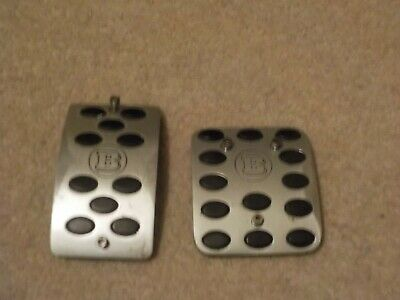 Smart Fortwo Roadster Brabus Pedal Covers
