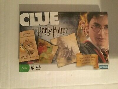 CLUE Harry Potter Edition by Parker Brothers 2008 Brand NEW