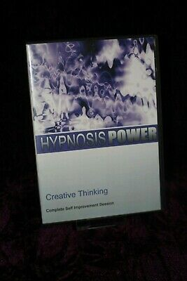 Creative Thinking with Hypnosis + Bonus Disc - Hypnotherapy, Self Help