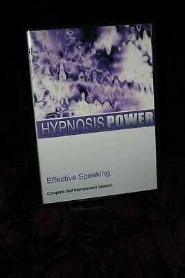 Effective Speaking with Hypnosis + Bonus Disc - Hypnotherapy, Self Help