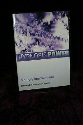 Memory Improvement with Hypnosis + Bonus Disc - Hypnotherapy, Self Help