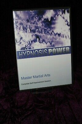 Master Martial Arts with Hypnosis + Bonus Disc - Hypnotherapy, Self Help