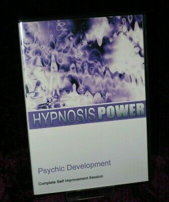 Psychic Development with Hypnosis + Bonus Disc - Hypnotherapy, Self Help