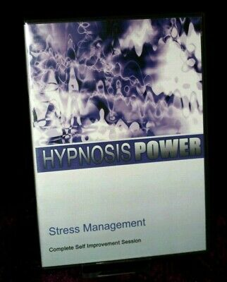 Stress Management with Hypnosis + Bonus Disc - Hypnotherapy, Self Help