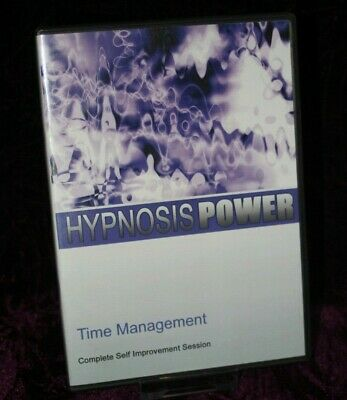 Time Management with Hypnosis + Bonus Disc - Hypnotherapy, Self Help