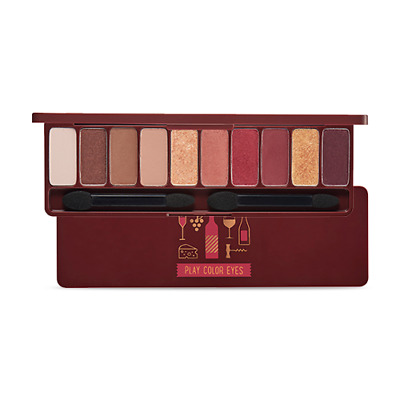 Etude House Play Color Eyes Korea Make up Eye Shadow Palette 10 Color Wine Party