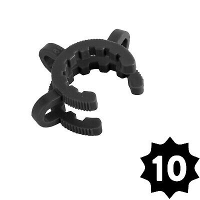 GRAV Labs 19mm Plastic Joint Clamps (Keck Clip) — Pack of 10