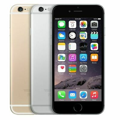 Apple iPhone 6 64GB Factory  GSM Unlocked T-Mobile AT&T Space Gray Silver Gold
