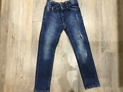 Boys Next Skinny Blue Jeans Age 6 Years