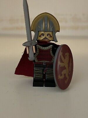 LEGO Custom Printed Game of Thrones Lannister Soldier