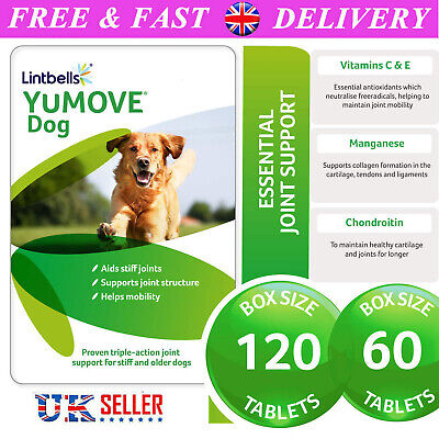 Lintbells YOUMOVE Dog Mobility Health Supplement Aid For Stiff Old Dogs 60 Tabs