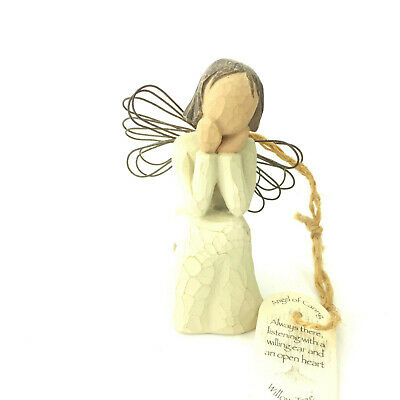"Willow Tree ""Angel of Caring"" Hanging Figurine by Susan Lordi 2001"
