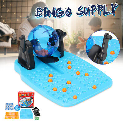 Bingo Family Game Lotto 90 Balls 48 Cards Traditional Childrens Board Gift New