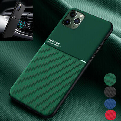For iPhone 11 Pro Max XR XS X 8 7 Plus 6 Luxury PU Leather Metal Hard Case Cover