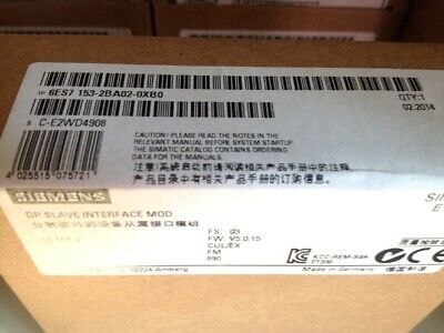1PC Siemens 6ES7153-2BA02-0XB0 6ES71532BA020XB0 New In Box