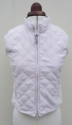 """Joules Girls pale pink quilted """"Jnr Minx"""" gilet,age 10-11 years"""