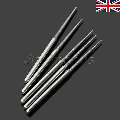 25x Diamond Coated L Type Grinding Head Burrs Rock Rods Drills Grinding Rotary
