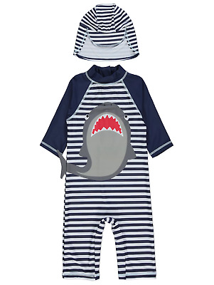 Boys Marvel Swimsuit with Hat UV40 Sunsafe Protection Surfsuit The Hulk NEW BNWT